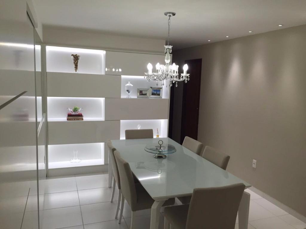 Apartamento residencial à venda, Manaíra, João Pessoa - AP5044.