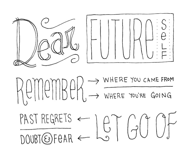 A letter to my future self