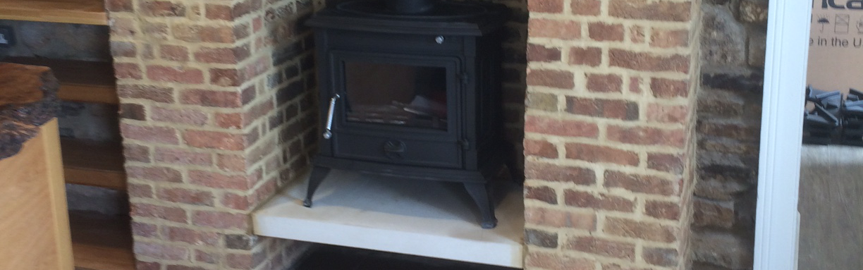 Woodburner Installation In Dorset