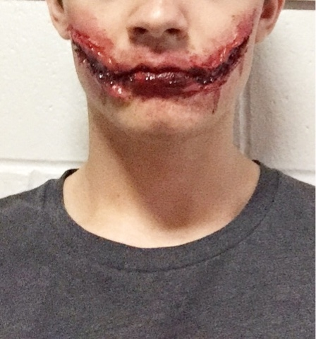 diy horror movie makeup