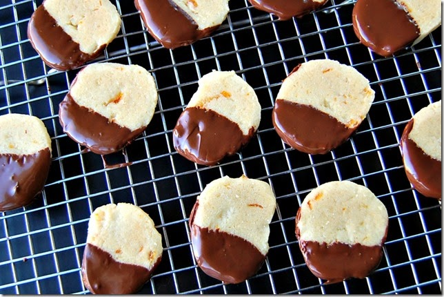 Orange Chocolate Shortbread