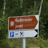 Fotopauze bij Gudbrandsjuvet.