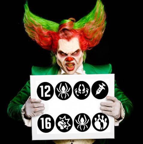 Edde Clown In Actie Google