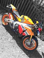 cbr1000rr fireblade repsol 2009 honda