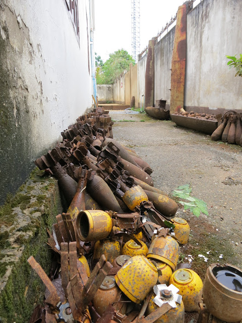 A smorgasbord of munitions.