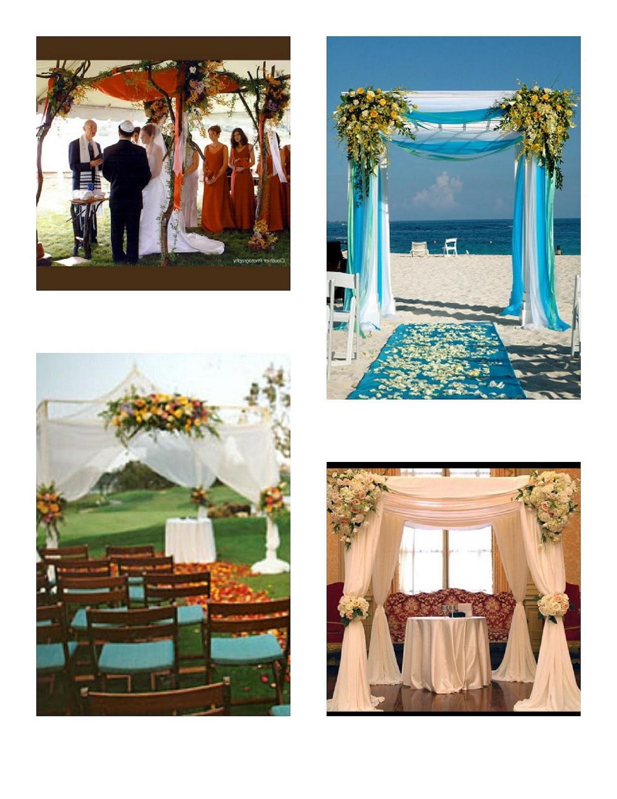 Chuppah Canopy Wedding Floral