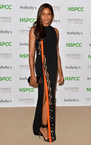 Naomie Harris Celebrities Arrive NSPCC Neo