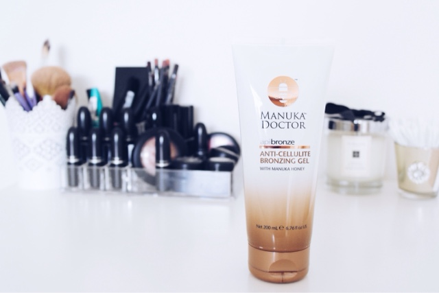 manuka doctor anti-cellulite bronzing gel, beauty blogger, review