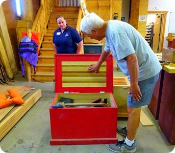 Great Lakes Boat Building School