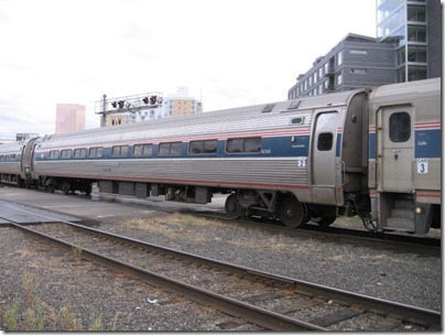 IMG_8622 Amtrak Amfleet I Coach #82560 at Union Station in Portland, Oregon on August 19, 2007