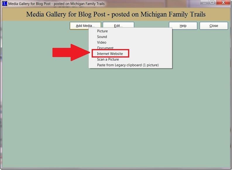 blog post add media