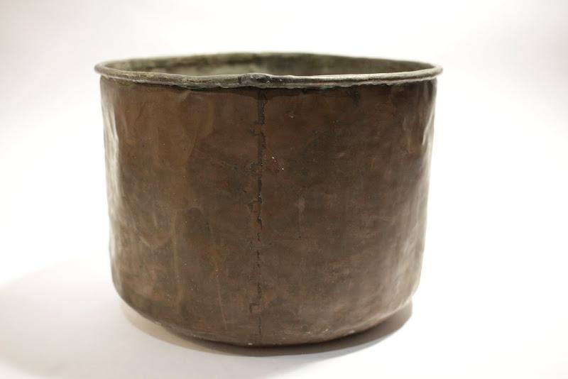 Copper Pot / Bin or Mixing bowl