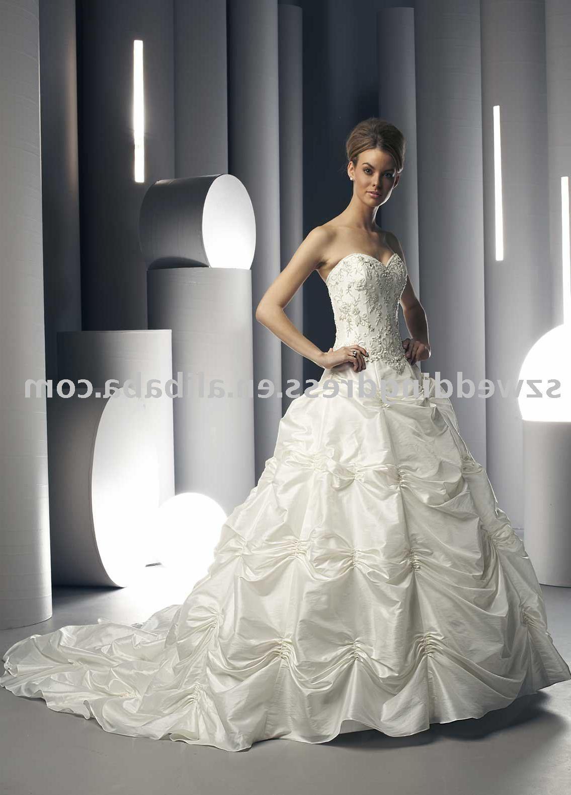 2009 popular wedding dress HS_1080. See larger image: 2009 popular wedding