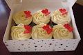 Buttercream Rose Cupcakes