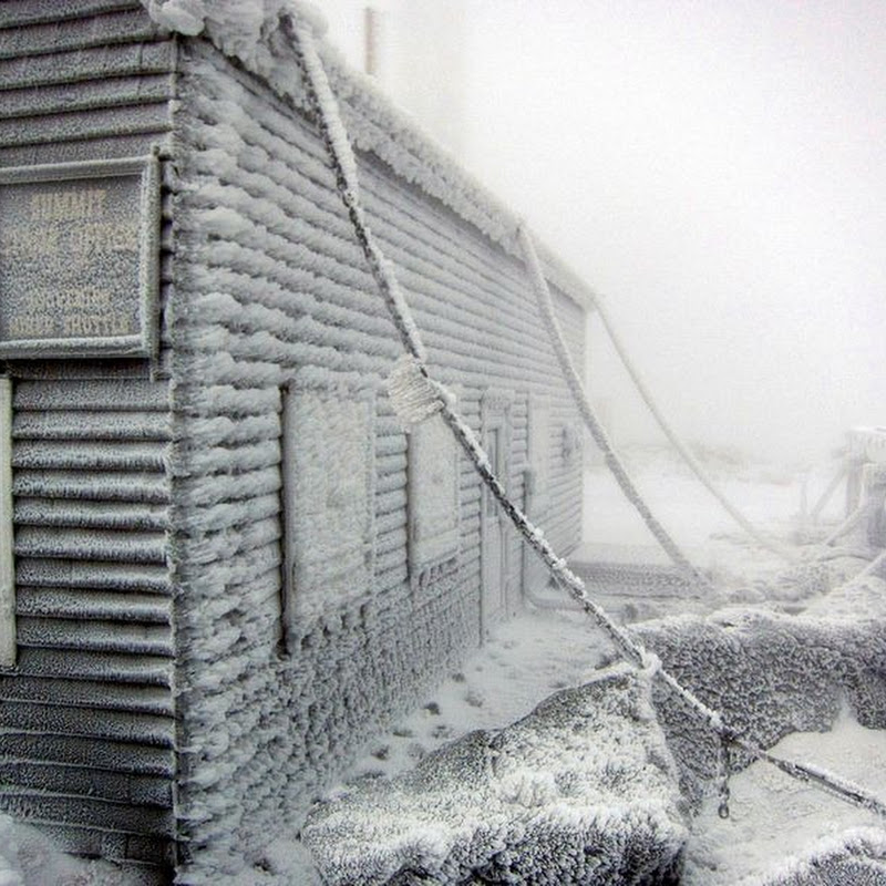 Mount Washington: Home of the World's Worst Weather