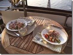 Jon's seafood dinner Oriental