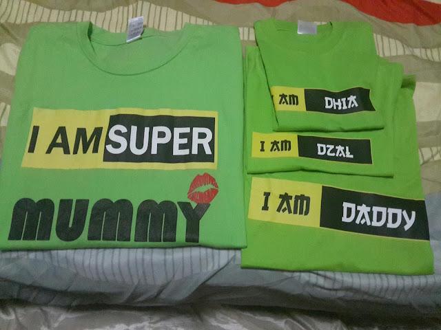 Baju Couple Sedondon TShirt IAM Murah dan Cepat