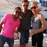 with the boys at Cabana in Toronto, Ontario, Canada