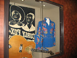 Curly Fox's guitar and suit at the Grand Ole Opry in Nashville TN 09032011