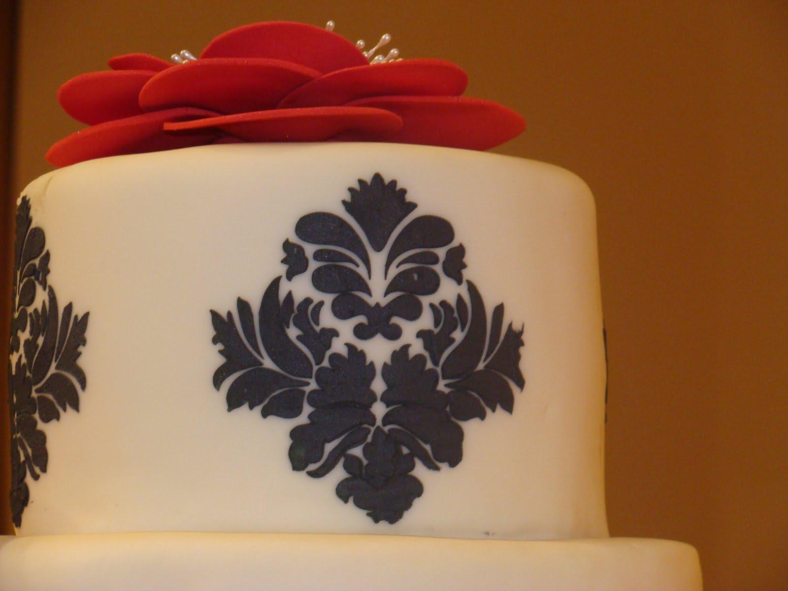 Bart & Herineida Evans Wedding Cake