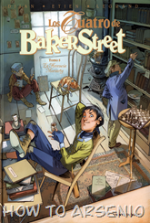 Actualización 24/10/2015: Los Cuatro de Baker Street - nuevamente Carlos Sánchez en traduccion y a las maquetas de Manuel Sánchez, nos traen el número 5