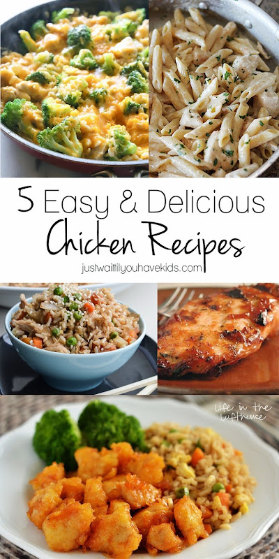5 Easy & Delicious Chicken Recipes