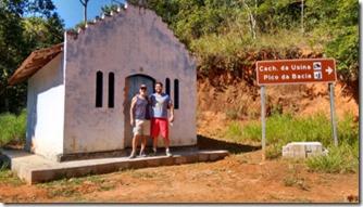 Capelinha na Trilha para a Cach da Usina