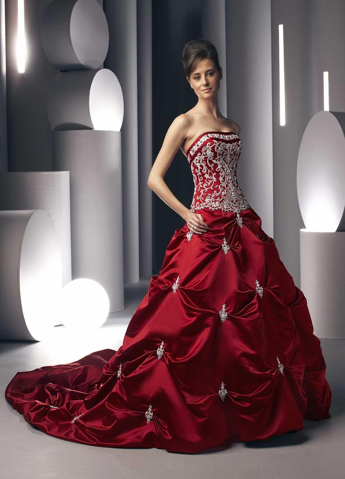 Wedding Dress - Strapless - Da