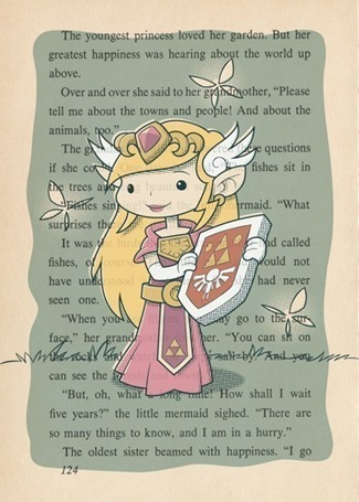 Legend of Zelda Inspired The Little Princess by Fort Awesome Studios