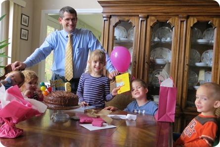 Elaine's 6th Birthday