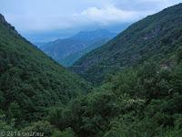 Die Westrampe des Col St. Martin (1500 m).