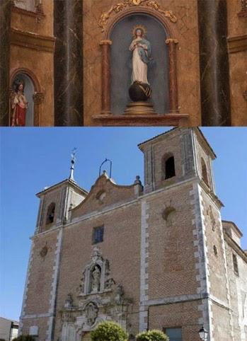 Iglesia y retablo de Renedo, Valladolid