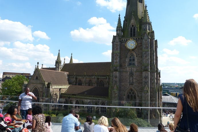 St.Martins Church in Birmingham