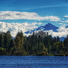 Mount Pilchuck  by Todd Reynolds - Landscapes Mountains & Hills
