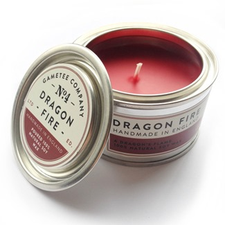 Dragon Fire Candle from Game Tee