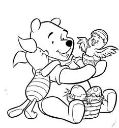 pooh-con-huevos-de-pascua 1