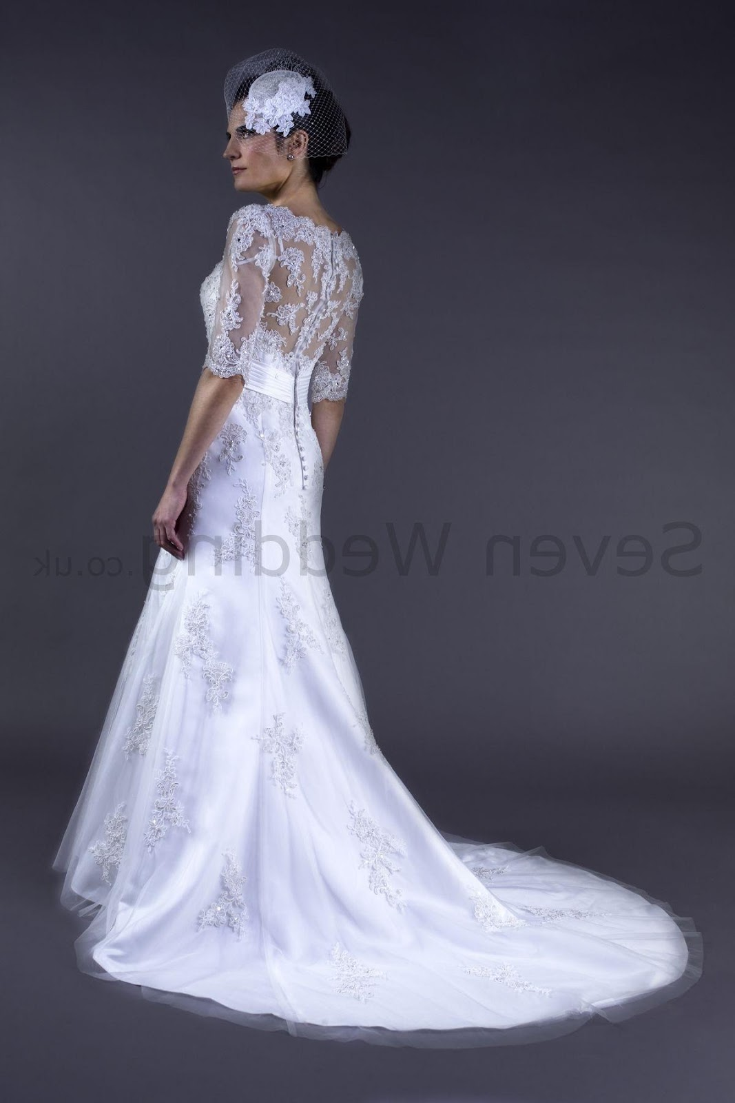 Amberly 39 s blog lace overlay wedding dress for Lace wedding dress overlay