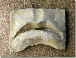 The Mouth : Small Experimental Clay Piece