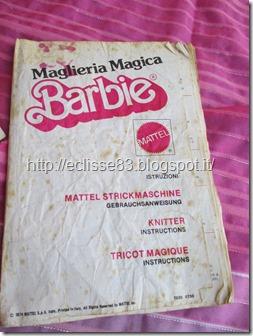 Maglieria Magica Barbie istruzioni