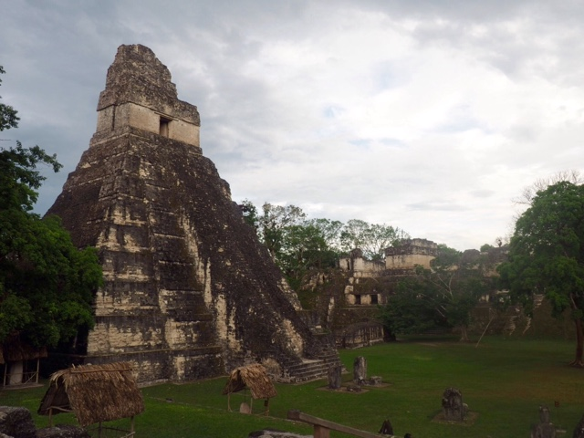Temples in Tikal National Park, Guatemala