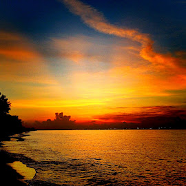 Beautiful sunrise sky by Janette Ho - Instagram & Mobile iPhone (  )