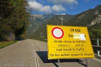 Auf der Südseite des Forcella di Monte Rest (1076m).