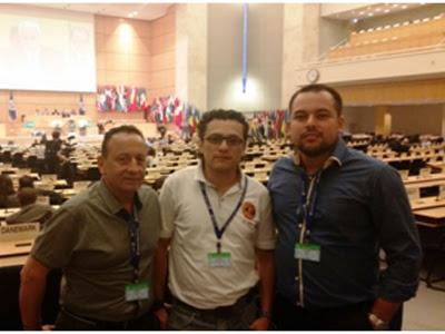 ¿A qué fue la USO a la 104ª Conferencia de la OIT?