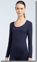Uniqlo Heattech long sleeved scoop neck top - colours