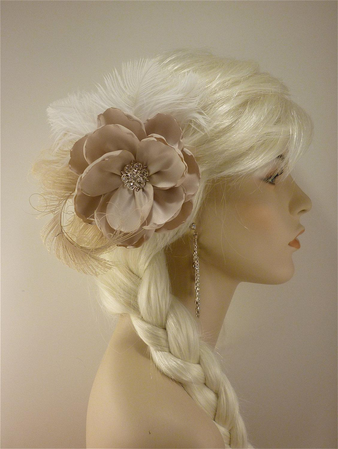 Flower Hair Clip, Wedding