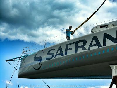 Safran retrouve l'eau à La Trinité