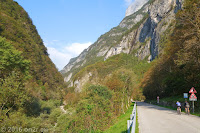 Schönes und schmales Valle del Mis.