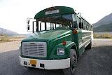 The Big Green Bus - Denali National Park, AK