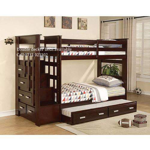 Fancy Home Decor BUNK BEDS WITH STAIRS AND DRAWERS