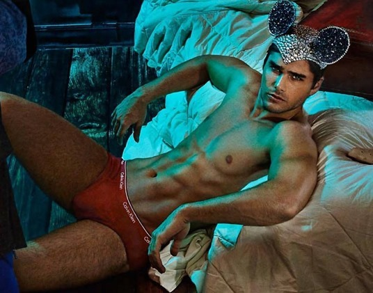 Charlie Matthews in Red Briefs 2